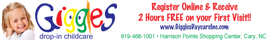 Giggles Child Care, Child Care Raleigh Cary, Small Business Raleigh