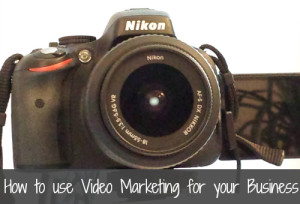 How to use Video Marketing for your business written by Nikol Murphy