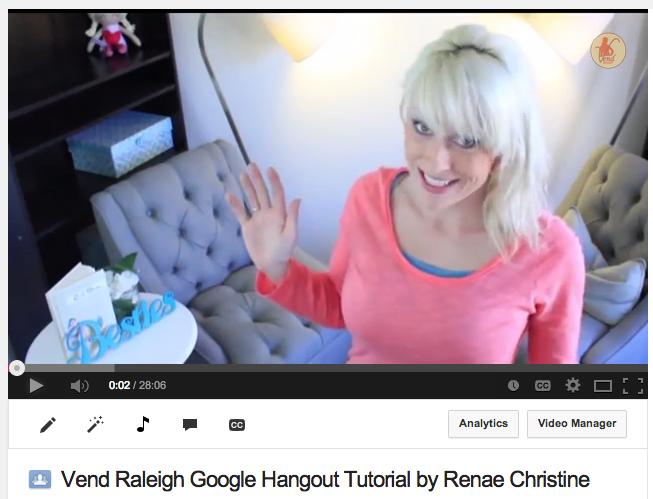 Raleigh Small Business Google Hangout, Google Hangout, Raleigh Small Business Google Hangout, Raleigh Small Business Women, Renae Christine, Rich Mom Business