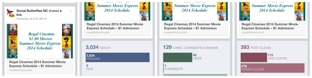 Increasing Facebook Insight Results