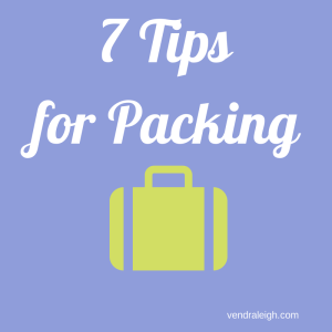 7 Tips for Packing, Raleigh Kids and Family Travel
