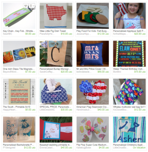 Vend Raleigh July Etsy Shop Owners