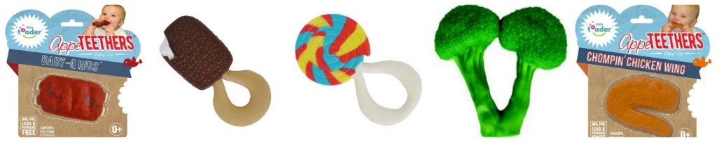 AppeTEETHERS Food Teethers!, GreenPea Baby, Raleigh Holiday Gift Guide