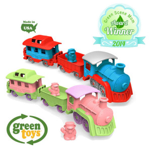 New Green Toy-Train, GreenPea Baby, Raleigh Holiday Gift Guide