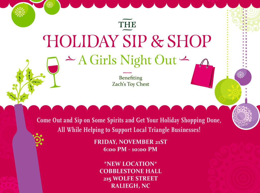 Vend Raleigh Holiday Sip and Shop , Christmas Shopping Event Raleigh