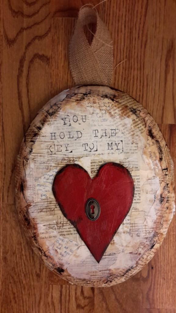 Cool Mama Valentine craft for Vend Raleigh