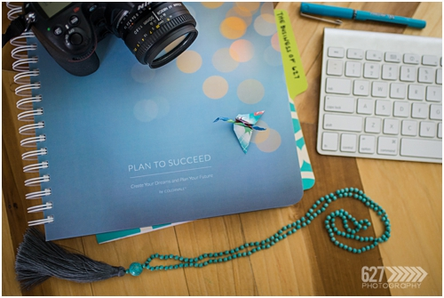 A notebook, camera and keyboard, 627 Photography