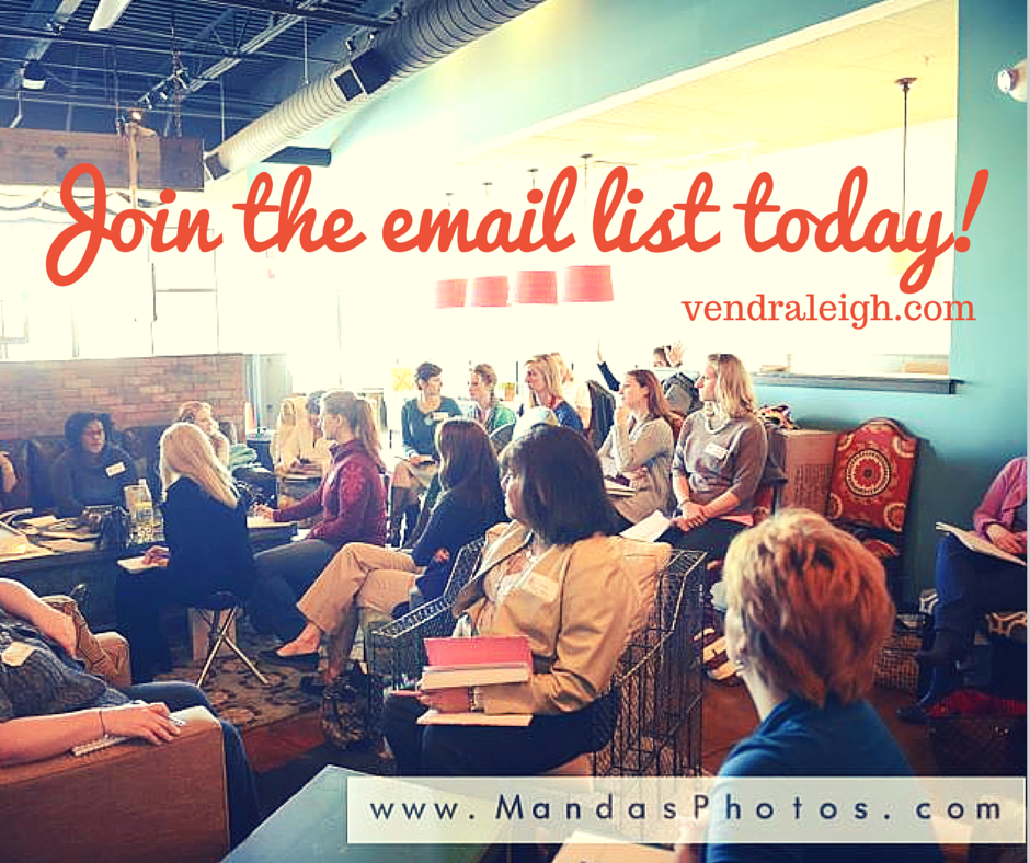 Join the Vend Raleigh Email List | Events for Raleigh Business Women