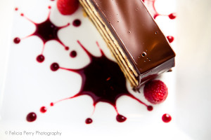 A dessert by Felicia Perry Photography for Vend Raleigh