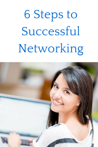 6 steps to successful networking