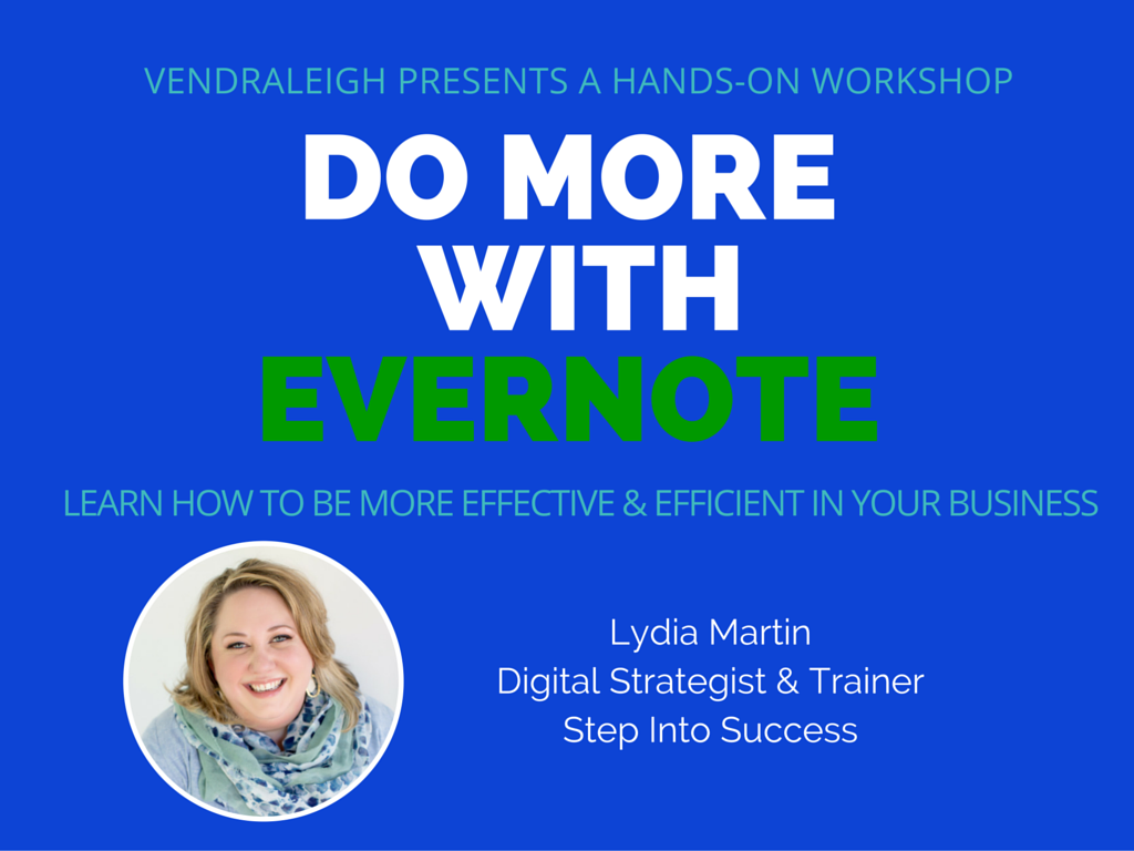 Do More with Evernote Raleigh