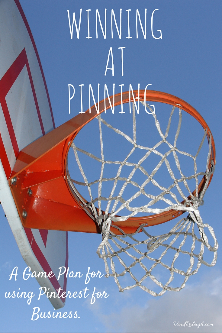 A game plan for creating winning Pinterest pins. The do's and don't of Pinterest plus learn about the place for Raleigh Mompreneurs- Vend Raleigh.