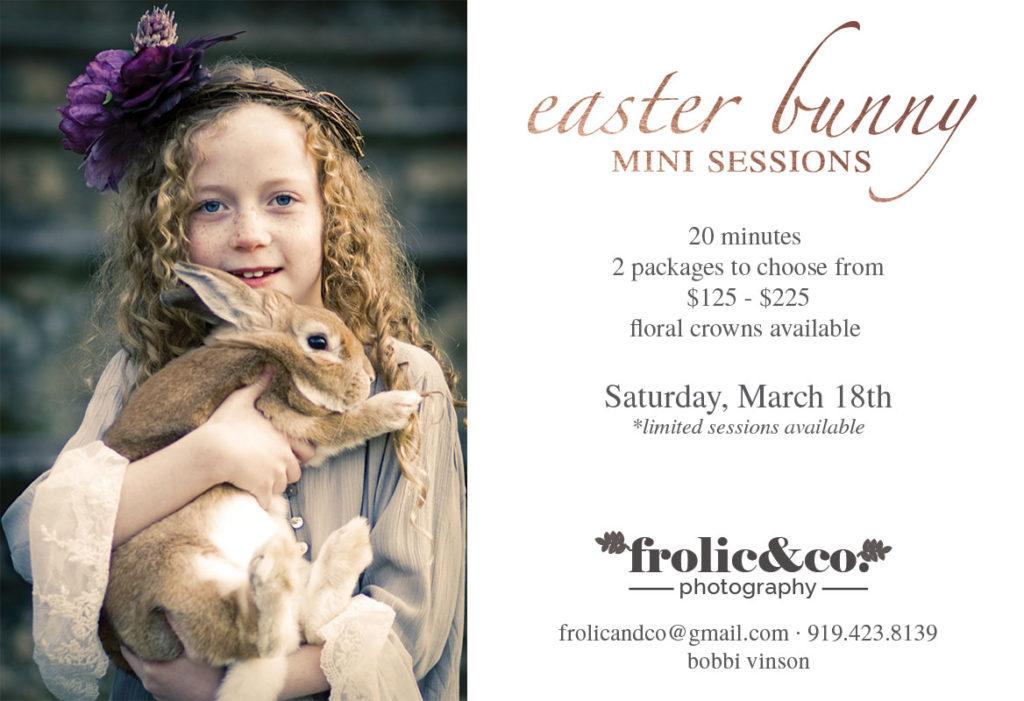 Easter Bunny Photos Raleigh